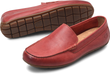 Load image into Gallery viewer, mens red loafers