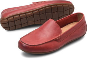 mens red loafers