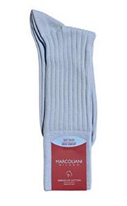 Marcoliani Milano The Dress Code Men's Mid Calf Socks | Various Colors