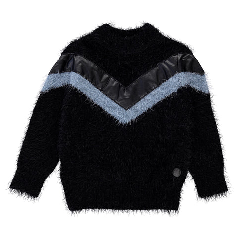 Birdz Children & Co. Retro Fuzzy Sweater - Boys