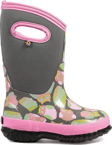 Bogs Classic Owls Insulated Boots - Toddler