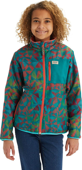 Burton Snooktwo Reversible Fleece Jacket - Boys