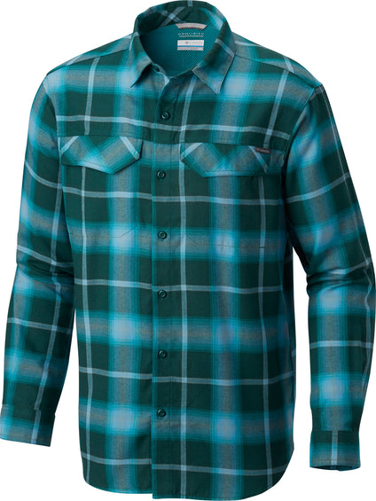 Columbia Silver Ridge Flannel Long Sleeve Shirt - Men's
