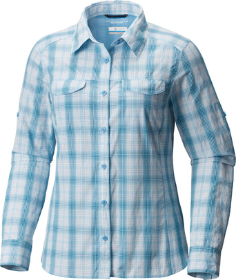 f422b0c0fc8 Loading spinner Columbia Silver Ridge Lite Plaid Long Sleeve Shirt - Women's  Blue Sky Plaid