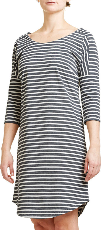 70430dcba66 Loading spinner FIG Clothing Dress ZAA - Women's Black Stripe
