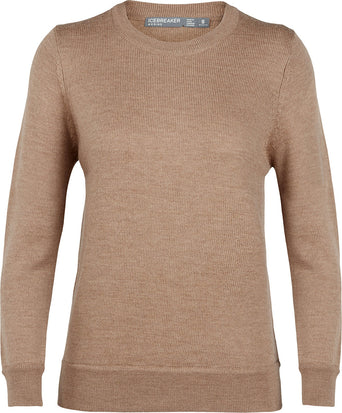 c02e4d0f635ce3 Loading spinner Icebreaker Muster Crewe Sweater - Women's Camel Heather