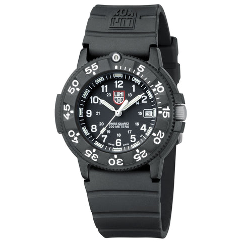 Luminox Original Navy Seal 3000 Series - 43mm Watch - Signature PU Strap