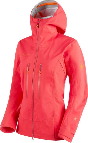 Mammut Eisfeld Guide Hooded Softshell Jacket - Women's