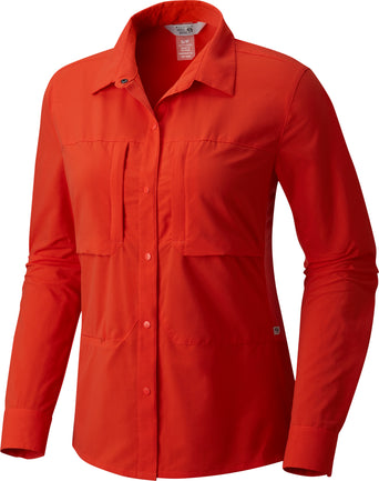 bb4fc757dcc Loading spinner Mountain Hardwear Canyon Pro Long Sleeve Shirt - Women's  Sweet Chili