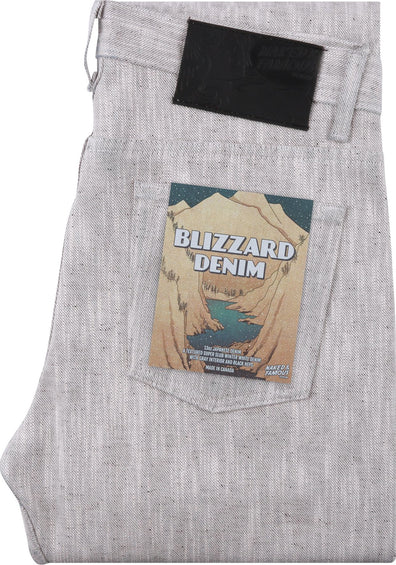 Naked & Famous Weird Guy - Blizzard Denim - Men's