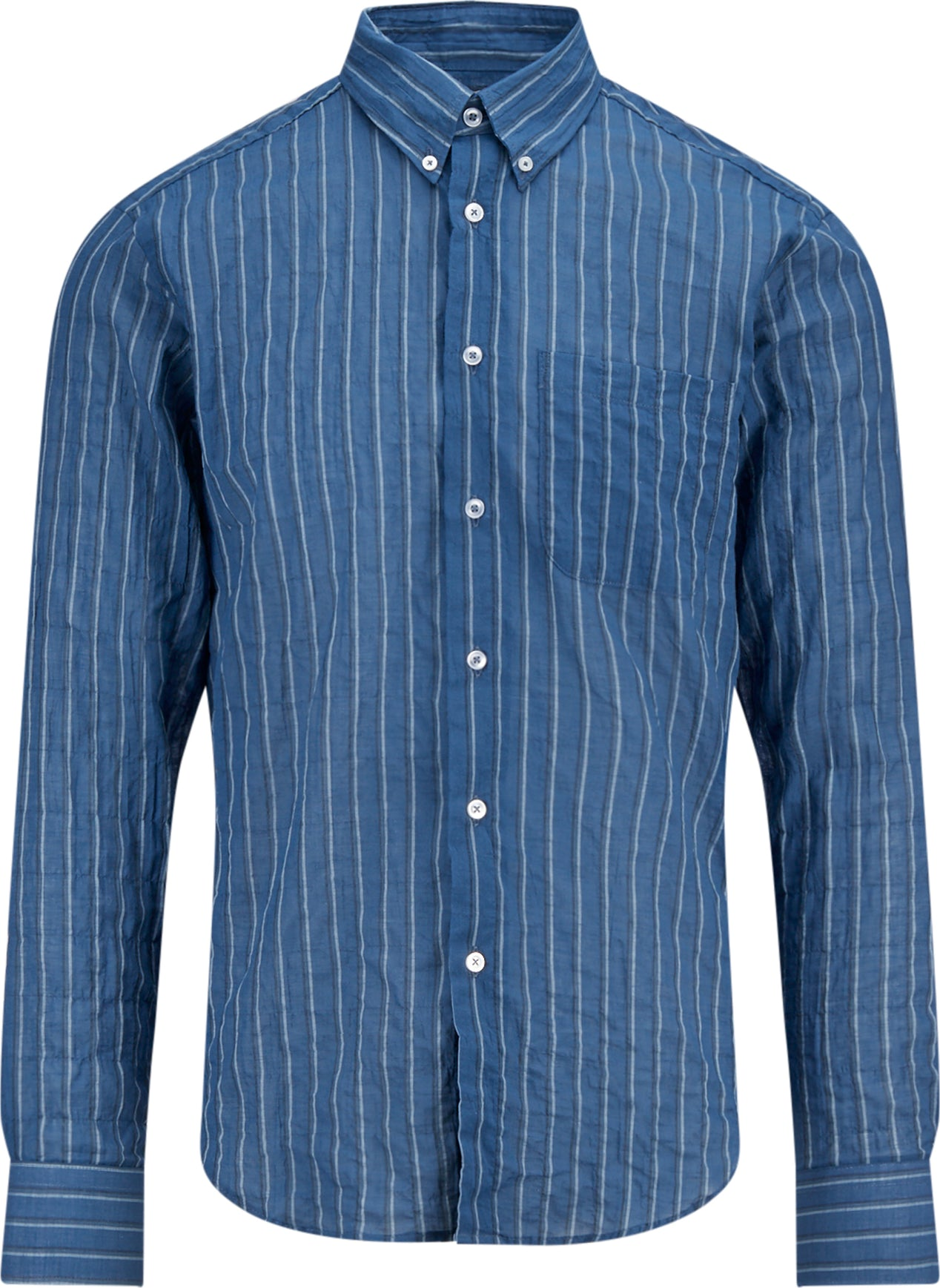 47e76fe1596e Naked & Famous Regular Shirt - Summertime Vintage - Men's | The Last ...