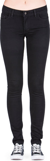 Naked & Famous Skinny Jeans - Lightweight Black Super Stretch - Women's