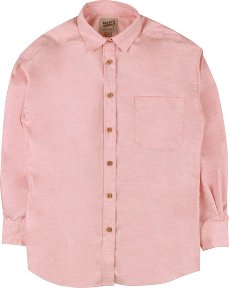 Naked & Famous Easy Shirt - Flower Dyed Oxford - Women's