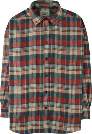 Naked & Famous Easy Shirt - Rustic Nep Flannel - Women's