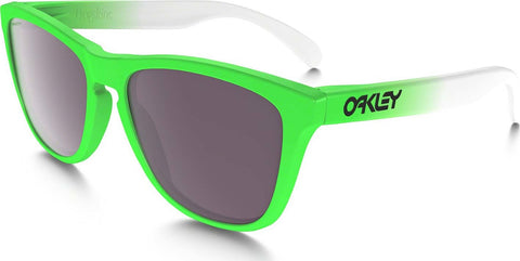 Oakley Frogskins - Green Fade - Prizm Daily Polarized Lens Sunglasses