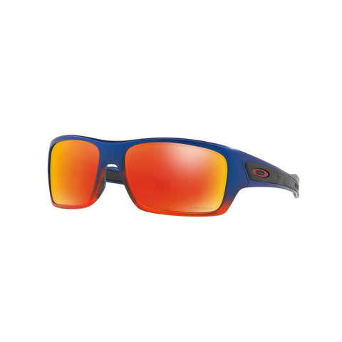 Oakley Turbine - Orange Pop Fade - PRIZM Ruby Lens Sunglasses