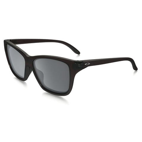 Oakley Hold On - Polished Black -  Grey Gradient Polarized Lens Sunglasses