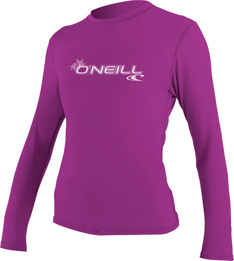 O'Neill Basic Skins Long Sleeves Rashguard - Women's