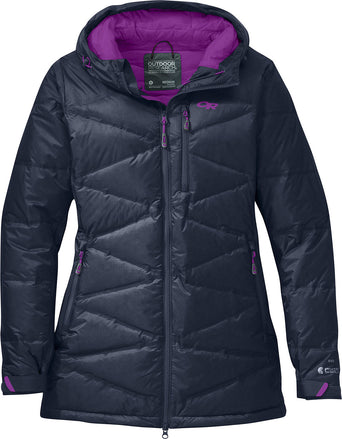 06f14eb4af Loading spinner Outdoor Research Floodlight Down Parka - Women's Night -  Ultraviolet