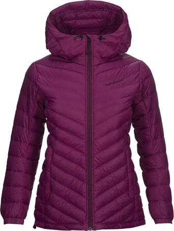 7f0be4ae Loading spinner Peak Performance Pertex Frost Down Hooded Jacket - Women's  Blood Cherry