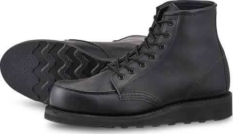 Red Wing Shoes 6'' Moc Toe Black Boundary Boots - Women's