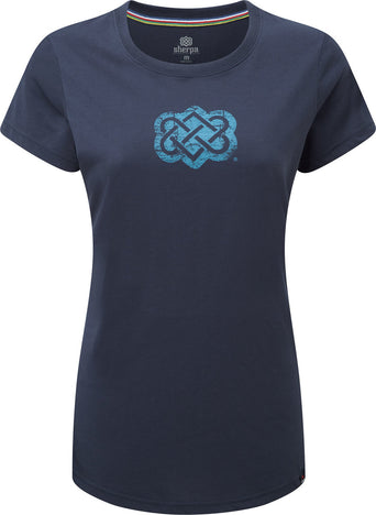 a25a78640 Loading spinner Sherpa Adventure Gear Endless Knot Tee - Women's Rathee