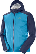 SALOMON Fast Wing Mid Fjord Blue Maillot Manches Longues