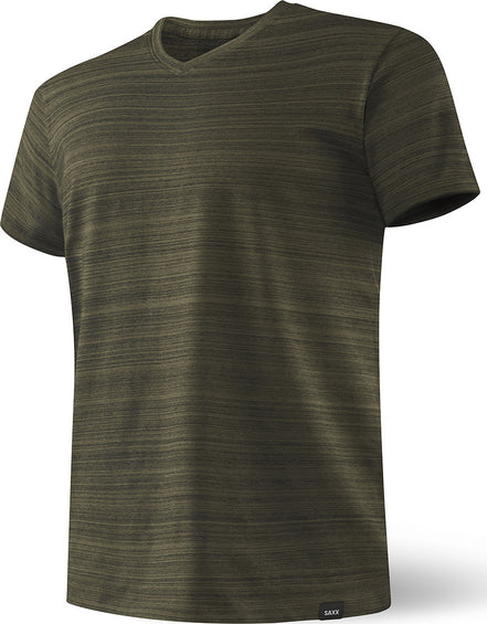 SAXX Underwear 3 Six Five Short Sleeve V-Neck - Men's