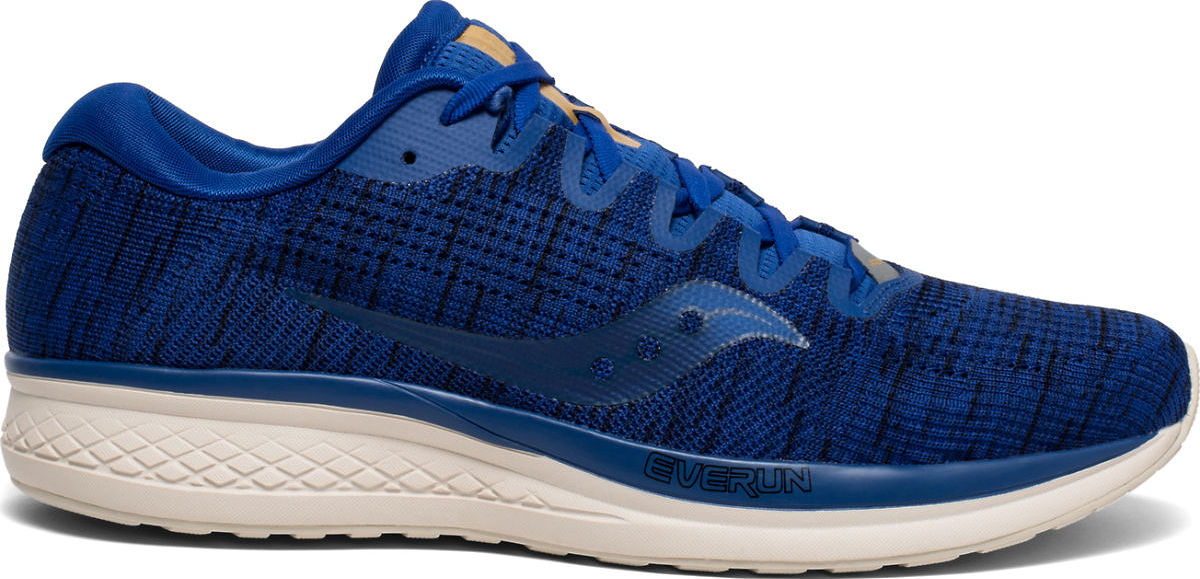 Saucony Mens Jazz 21 Running Shoe Blue Sports Breathable Lightweight