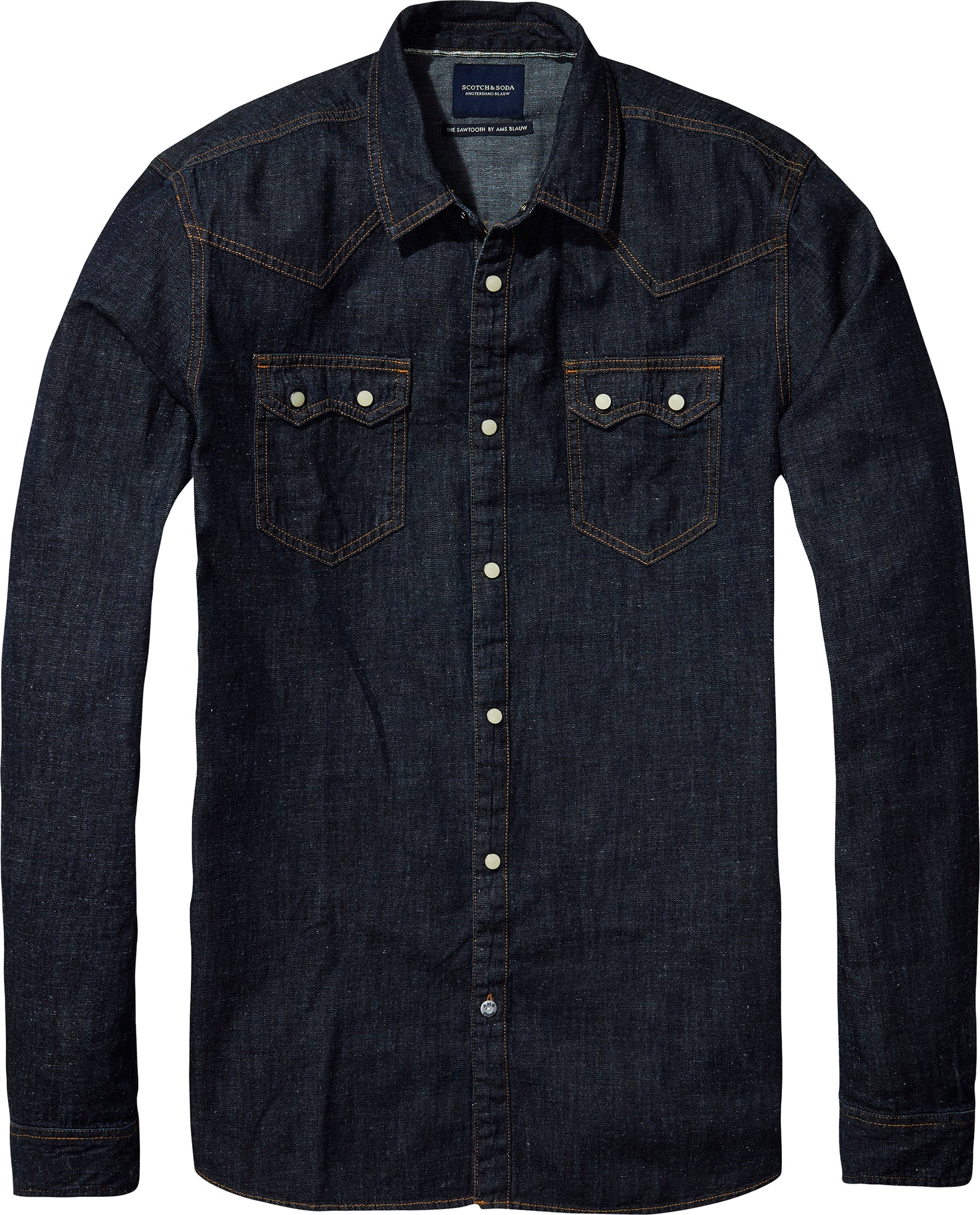 Scotch /& Soda Loose Light Weight Cotton Shirt with Pleating Chemise Fille
