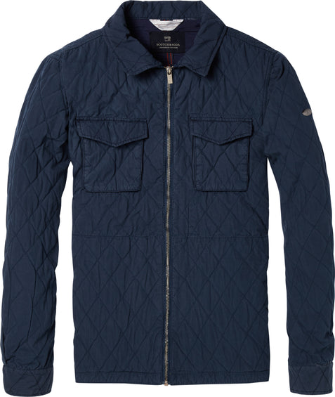 Scotch & Soda Quilted Shirt Jacket - Men's