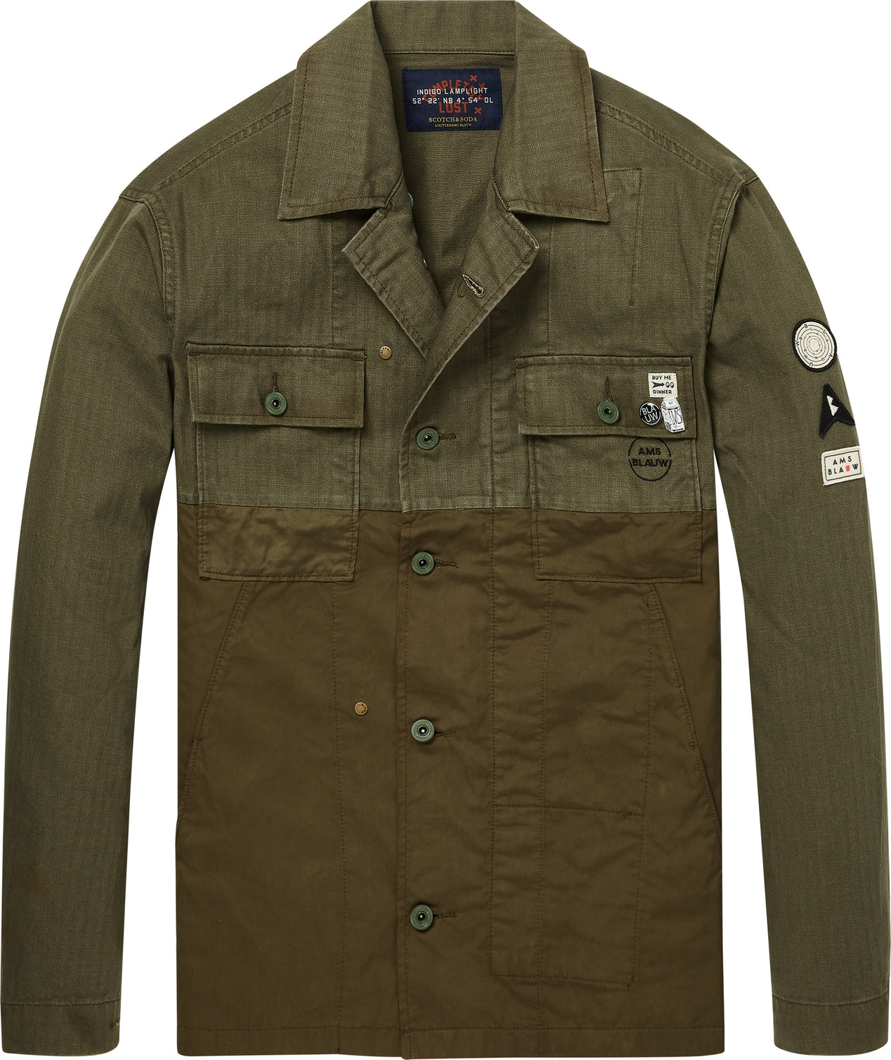 customers first size 40 huge discount Scotch & Soda Military Shirt Jacket - Men's