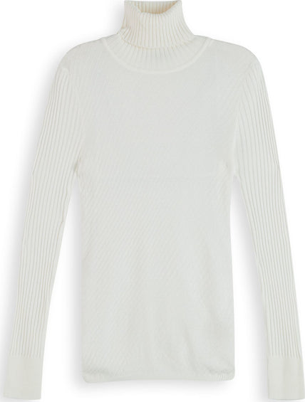 Scotch & Soda Wool-Blend Rib Knitted Turtleneck - Women's