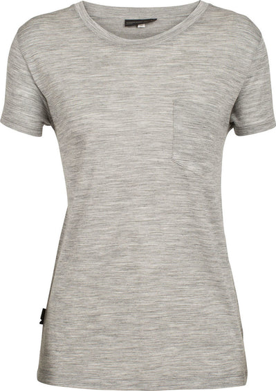 Icebreaker Tech Lite Short Sleeve Pocket Crewe - TABI Collection - Women's
