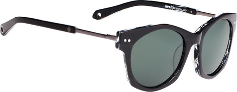 Spy Mulholland - Black - Horn - Happy Gray Green Lens - Women's