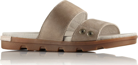 Sorel Torpeda Slide II All Over Full Grain Leather Sandals - Women's