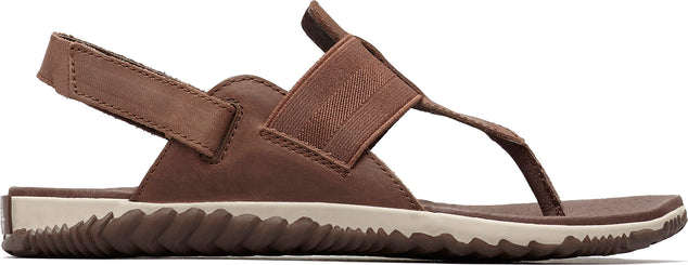 Sorel Out 'N About Plus Full Grain Leather Sandals - Women's