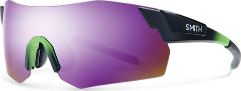 Smith Optics Pivlock Arena Max - Reactor Green - Purple Sol-X Mirror Lens