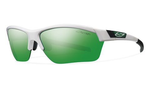 Smith Optics Approach Max - White - Carbonic TLT Green Sol-X Mirror Lens