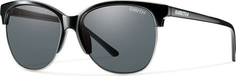Smith Optics Rebel - Black - Polarized Gray Lens Sunglasses