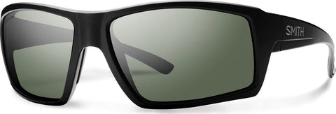 Smith Optics Challis  - Matte Black - Polarized Gray Green Lens