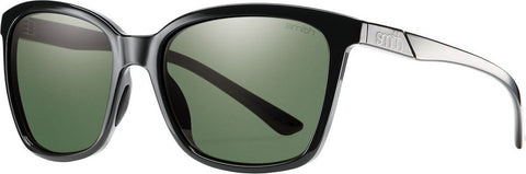 Smith Optics Colette - Black - Polar Gray Green Lens With Carbonic Tlt - Women's
