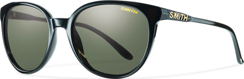 Smith Optics Cheetah - Black - Polarized Grey Green Lens - Women's