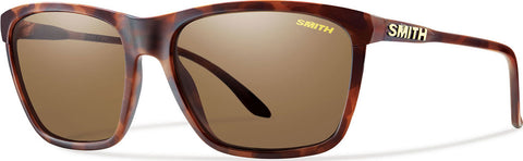 Smith Optics Delano - Matte Tortoise - ChromaPop™ Polarized Brown Lens Sunglasess