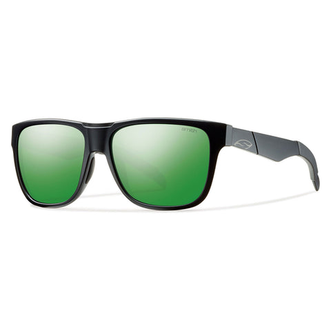 Smith Optics Lowdown - Matte Black - Green Sol-X Lens