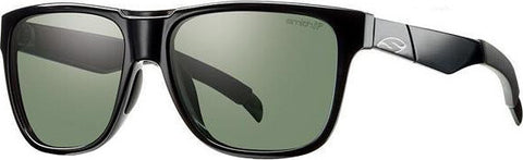 Smith Optics Lowdown - Black - Polarized Gray Green Lens With Chromapop - Unisex