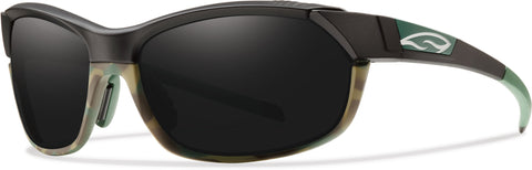 Smith Optics Pivlock Overdrive - Matte Trail Camo - Carbonic TLT Blackout Lens