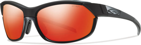 Smith Optics Pivlock Overdrive - Black - Carbonic TLT Red Sol-X Mirror Lens