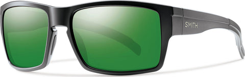 Smith Optics Outlier XL - Matte Black - Polarized Green Sol-X Lens With Carbonic Tlt - Unisex
