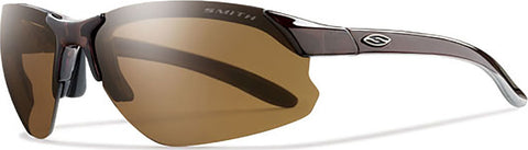 Smith Optics Parallel D Max - Brown - Polar Brown Ignitor Clear Lens Sunglasses